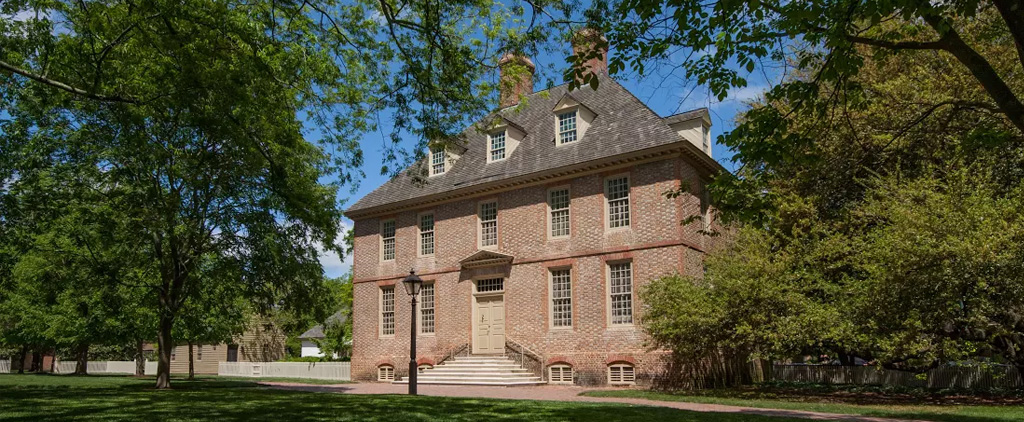 College Of William Amp Mary President S House Restoration