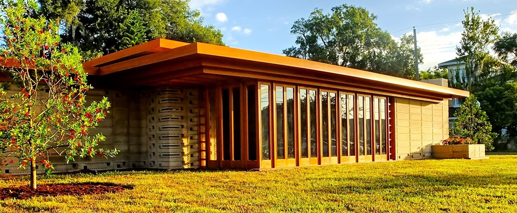 Florida southern college frank lloyd wright quantum for Frank lloyd wright usonian home plans